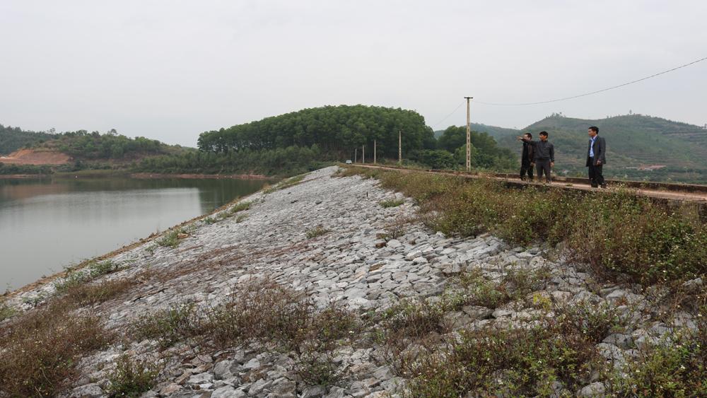 Các hồ chứa đều đạt dung tích nước trên 60%, bảo đảm sản xuất vụ chiêm xuân 2017-2018