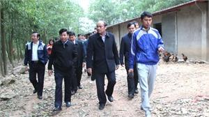 Chủ tịch UBND tỉnh Nguyễn Văn Linh: Lục Nam cần phấn đấu gieo trồng vụ xuân trong khung thời vụ tốt nhất
