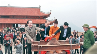 Tay Yen Tu Spring Festival expected to attract large number of visitors