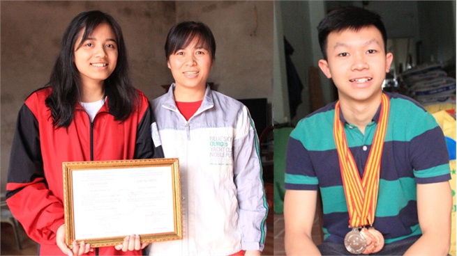 Bac Giang students win high prizes at National Excellent Student Competition