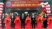 Bệnh viện Đa khoa tỉnh kỷ niệm Ngày Thầy thuốc Việt Nam và khánh thành nhà điều trị nội trú