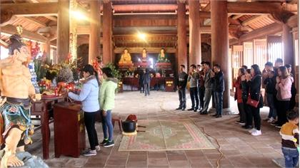 Tây Yên Tử trước ngày khai hội