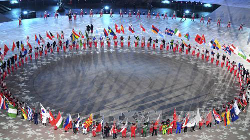 Lễ bế mạc Olympic PyeongChang 2018 đầy màu sắc và đậm chất văn hóa Hàn Quốc