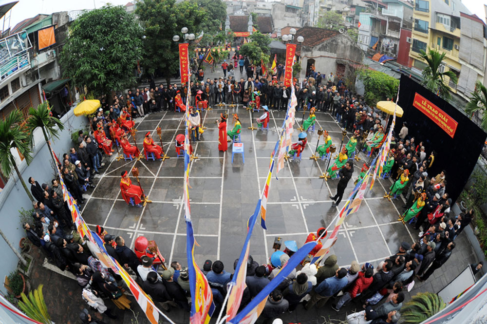 Xiangqi festival, Vua pagoda, annual tradition, Chinese chess festival, chess players, prestigious chess arena, Lunar New Year