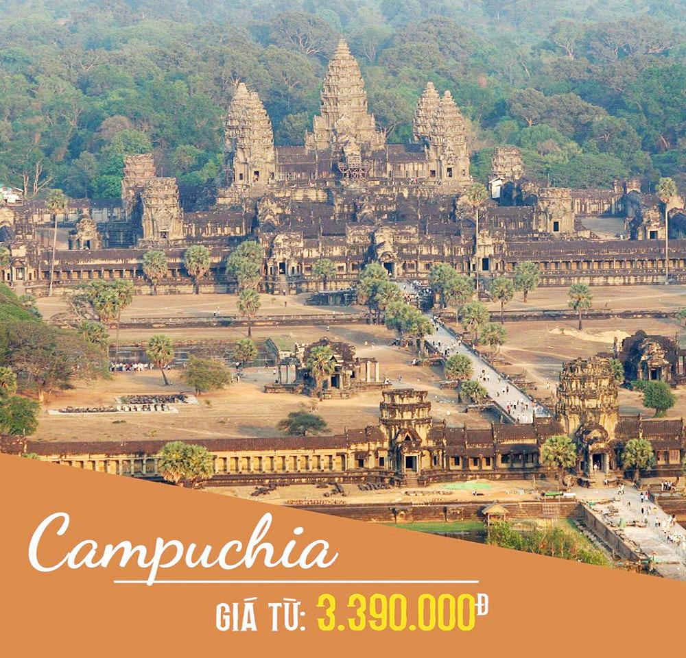 Campuchia, một điểm đến, ấn tượng, du khách, quốc tế