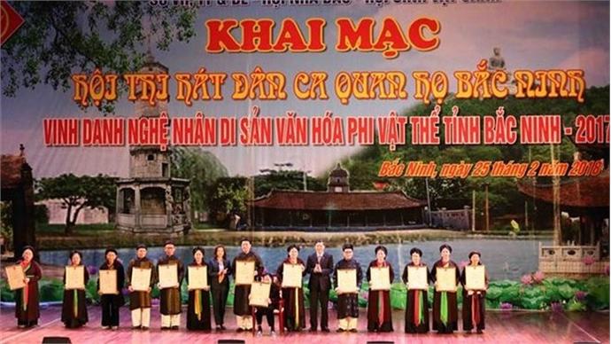 Bac Ninh honours 47 intangible cultural heritage artisans