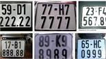 Thông tin mới nhất về Đề án đấu giá biển số xe ô tô
