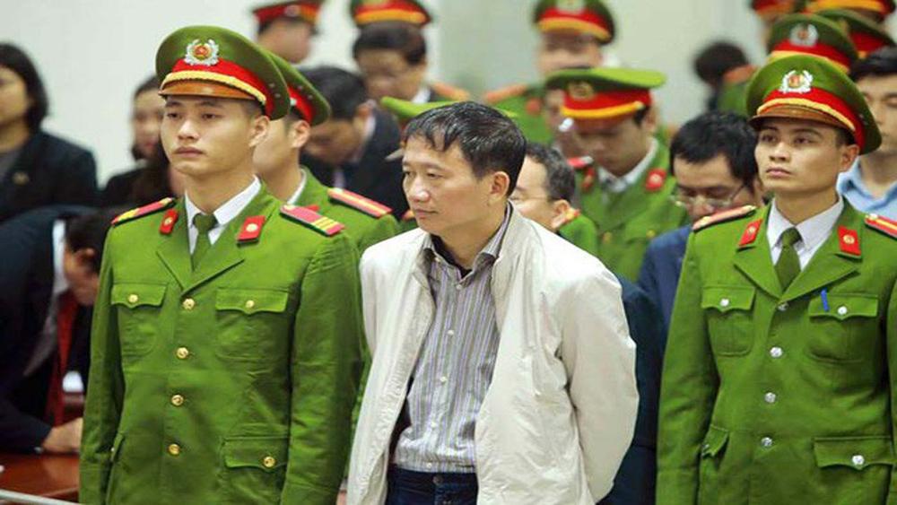 Ông Trịnh Xuân Thanh và Đinh Mạnh Thắng kháng cáo