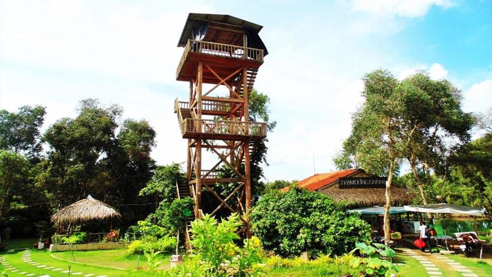Du lịch homestay ở vườn quốc gia Tràm Chim
