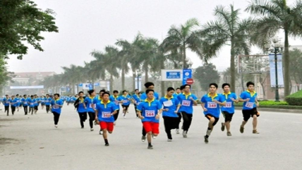 Tổ chức Ngày chạy Olympic vì sức khỏe toàn dân 2018