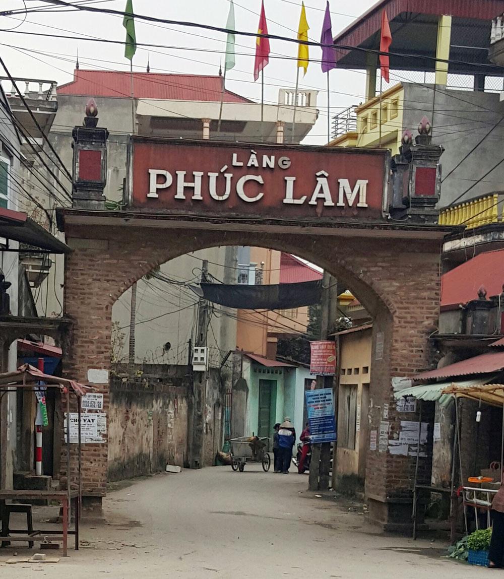 Phúc Lâm,  thẩm thịt trâu tươi, Hoàng Ninh, Việt Yên