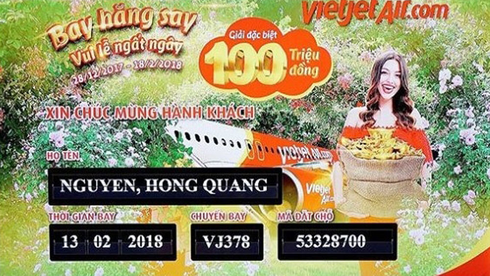 Winner of Vietjet's new promotional campaign announced