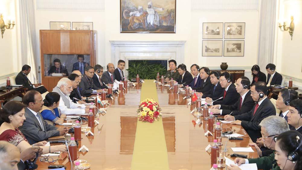 Hoạt động của Chủ tịch nước Trần Đại Quang tại Ấn Độ