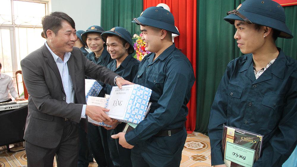 Thanh niên Bắc Giang: Tự tin trước ngày nhập ngũ