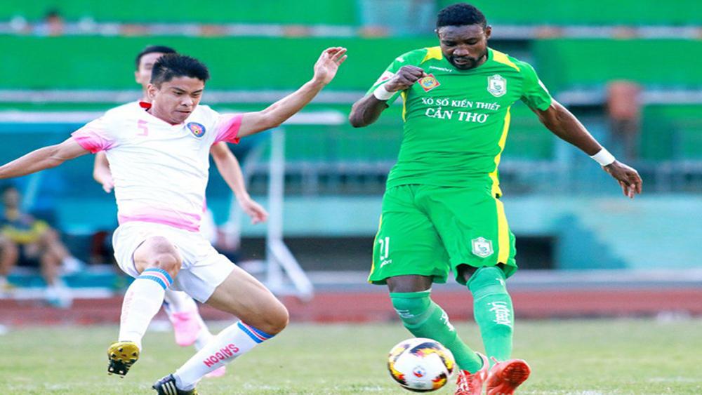 Sài Gòn FC và CLB bóng đá Cần Thơ tranh chấp ngoại binh