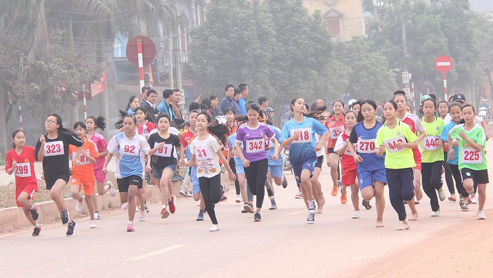 Hướng tới giải việt dã Báo Bắc Giang lần thứ 37 năm 2018: Các đội tốp đầu khởi động sớm