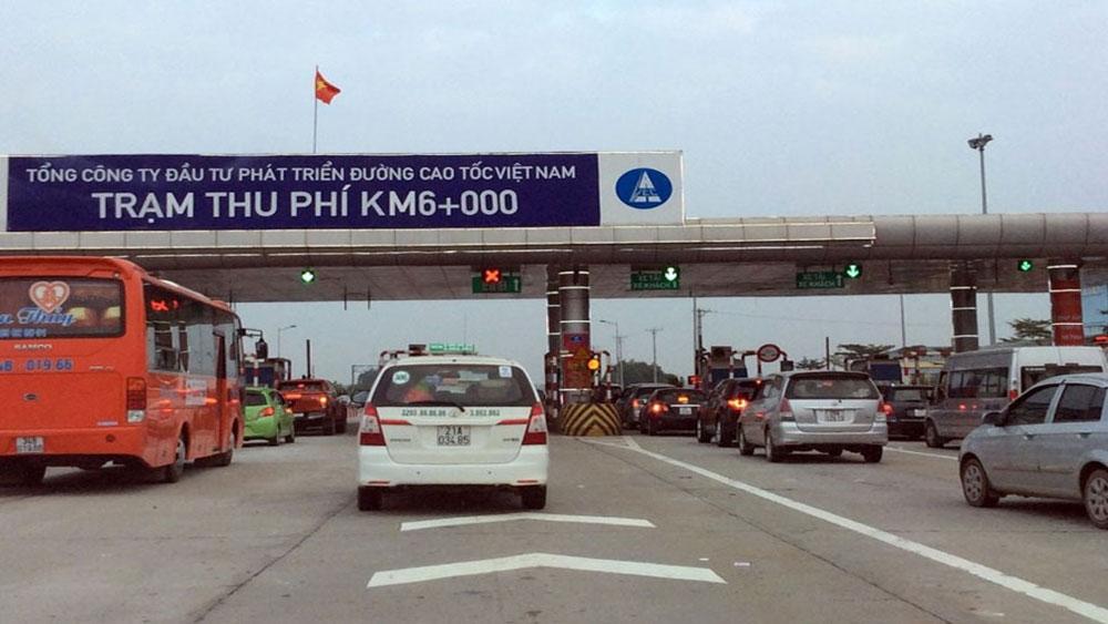 Minh bạch tại các dự án BOT: 3,2 triệu ôtô sẽ phải dán tem thu giá tự động