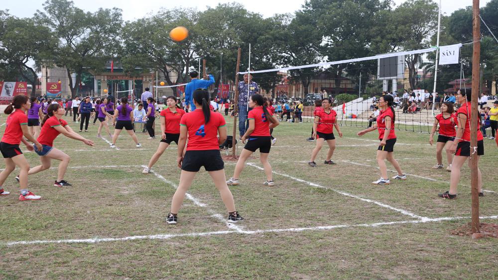 Chung kết Giải bóng chuyền hơi nữ công nhân, viên chức ngành giáo dục