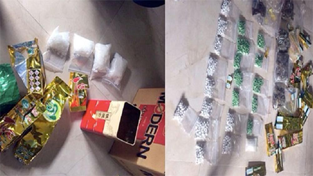 Triệt phá đường dây ma túy xuyên quốc gia, thu lượng lớn ma túy