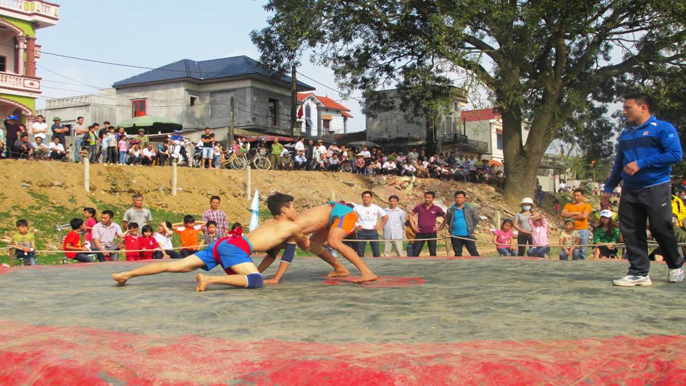 Xã Thái Sơn nhất toàn đoàn giải vật dân tộc huyện Hiệp Hòa