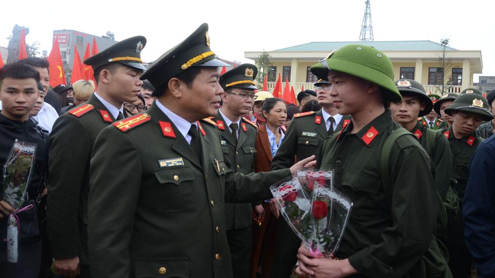 Yên Dũng: 217 tân binh lên đường nhập ngũ