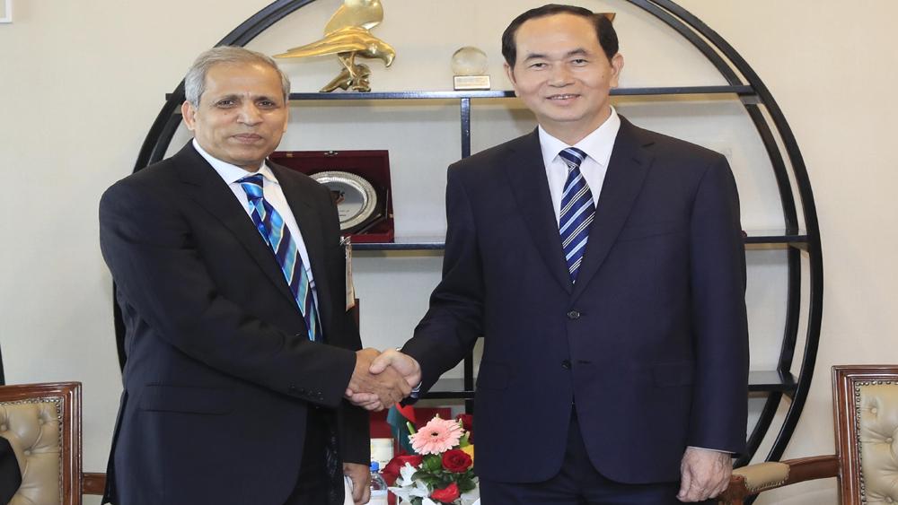 Chủ tịch nước, Trần Đại Quang, doanh nghiệp, Việt Nam, Bangladesh, khởi xướng, ý tưởng, sáng tạo