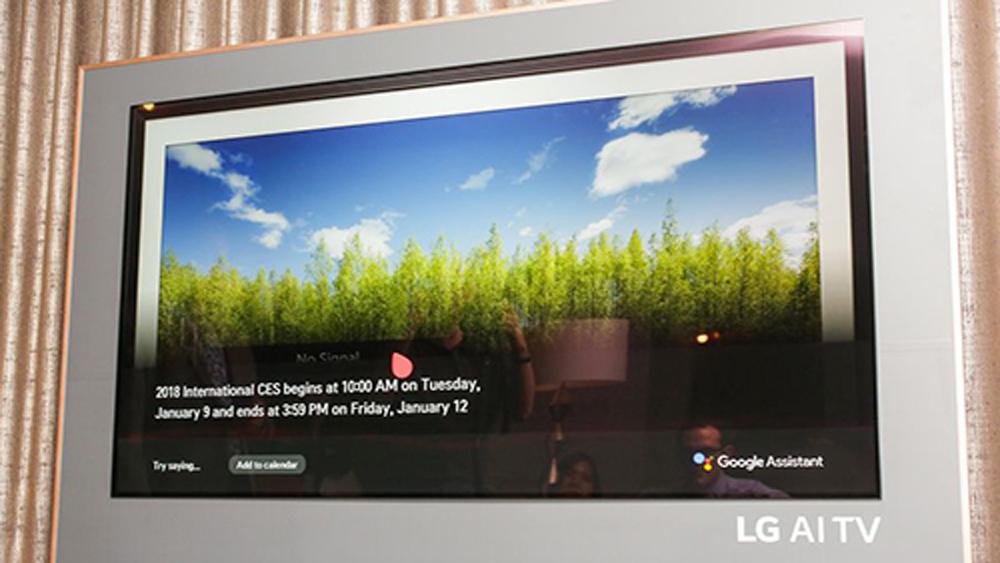 TV OLED 2018 của LG sẽ có giá từ 3.000 USD