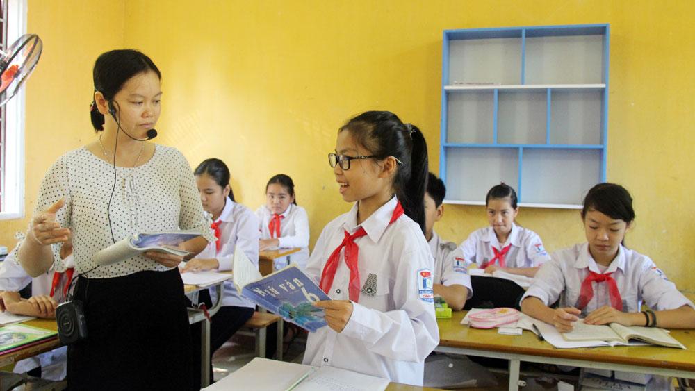 TP Bắc Giang đạt phổ cập giáo dục THCS mức độ 3