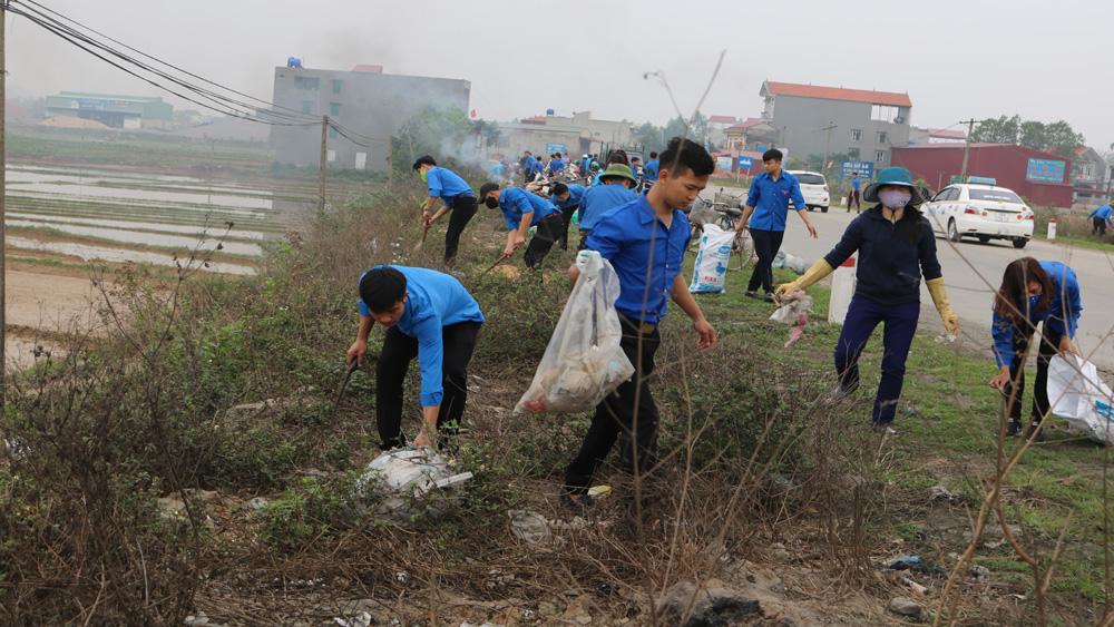 Huyện đoàn Lục Nam phát động Lễ ra quân Tháng thanh niên