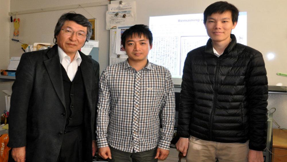 Nghiên cứu sinh Việt vô địch giải trí tuệ nhân tạo các trường đại học toàn Nhật Bản