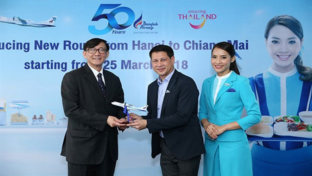 Bangkok Airways plans Hanoi-Chiang Mai flight