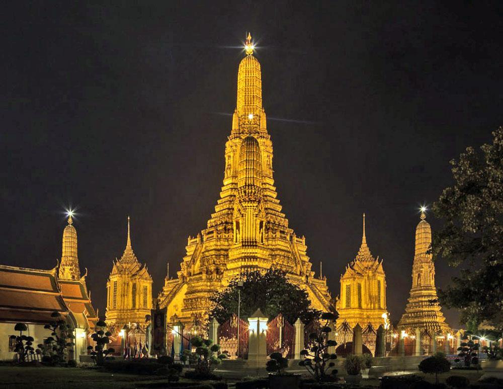 5 ngôi đền,  độc đáo,  châu Á