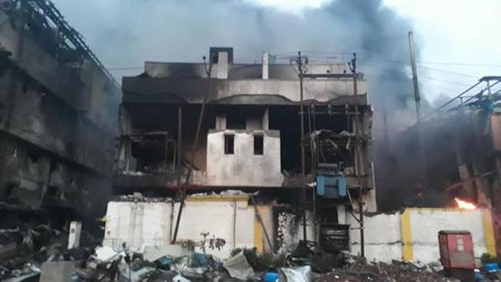 Cháy khu công nghiệp tại Ấn Độ, hàng chục người thương vong