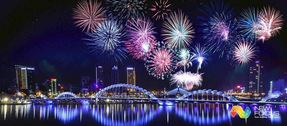 Da Nang, image promotion, fireworks festival, International Fireworks Festival, foreign friends, leading destination, firework performances