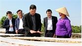 Bí thư Tỉnh ủy Bùi Văn Hải: Lục Ngạn cần quan tâm phát triển làng nghề, quản lý đất đai và xử lý rác thải