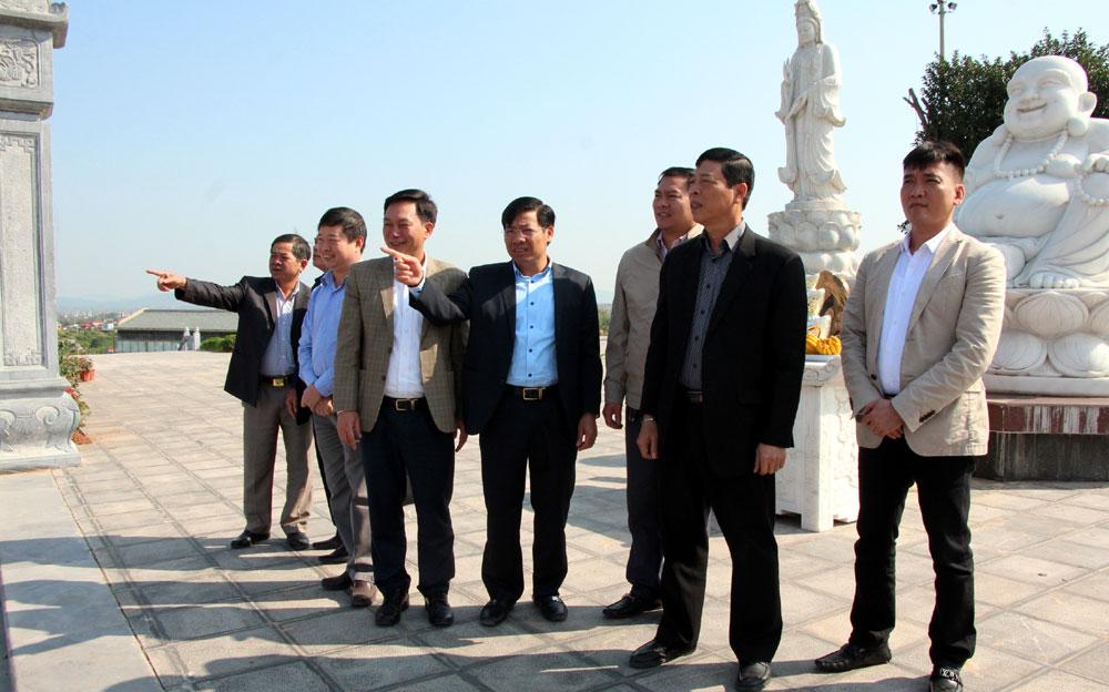 Bí thư Tỉnh ủy Bùi Văn Hải,  chỉ đạo Lục Ngạn,  quan tâm,  phát triển, kinh tế bền vững, bảo đảm,  môi trường