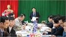 Bí thư Thành ủy Nguyễn Sỹ Nhận làm việc với Đảng ủy xã Dĩnh Trì