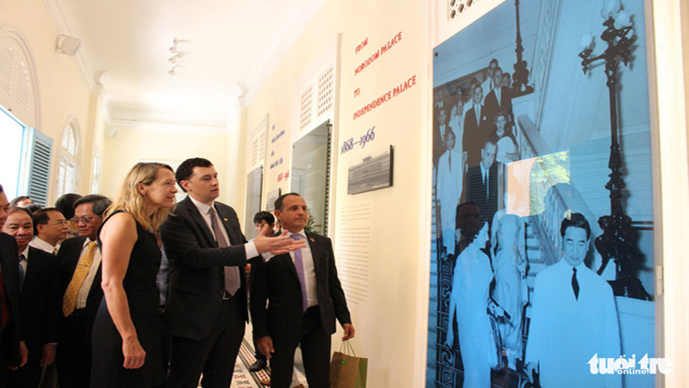 Trưng bày nhiều tư liệu mới ''Từ Dinh Norodom đến Dinh Độc Lập 1868-1966''