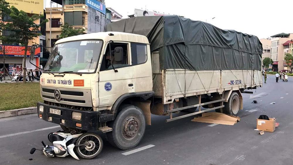 Lục Nam,  Một người tử vong, tai nạn,  giao thông