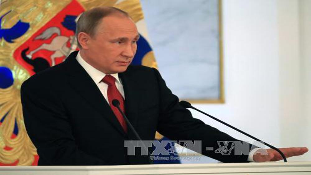 Tổng thống Putin khẳng định không có ý định sửa đổi Hiến pháp