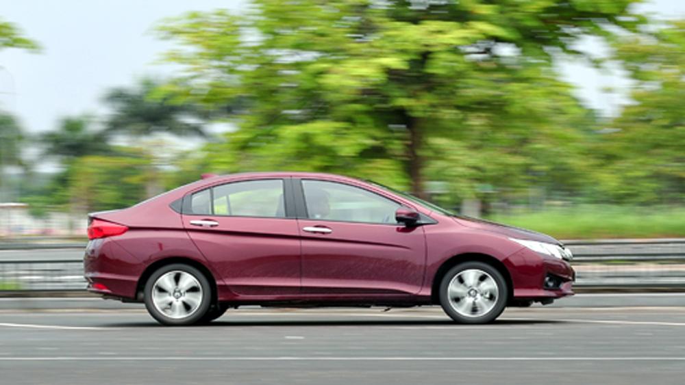 Honda, triệu hồi, City, Việt Nam, dính lỗi, túi khí