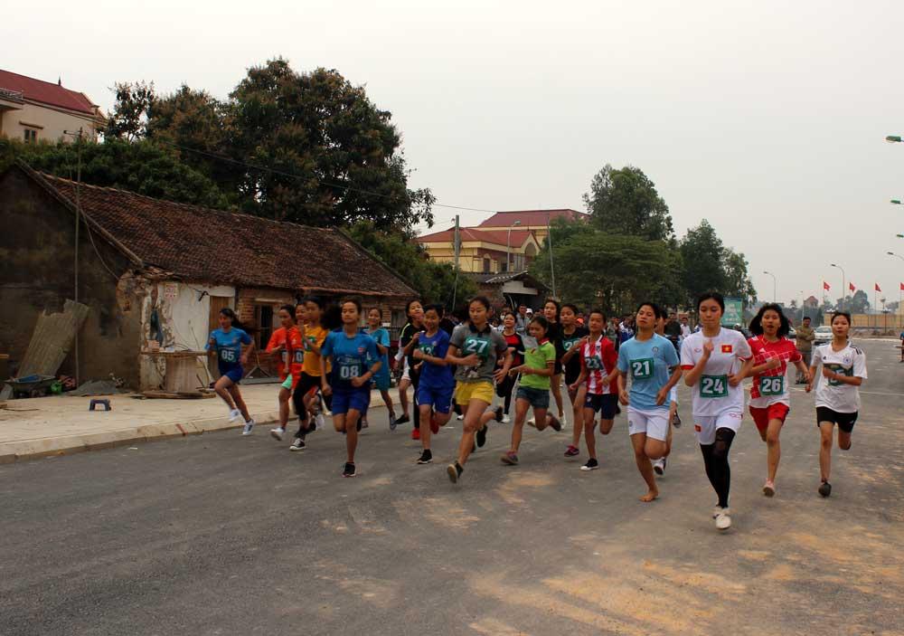 việt yên, ngày chạy, Olympic vì sức khỏe