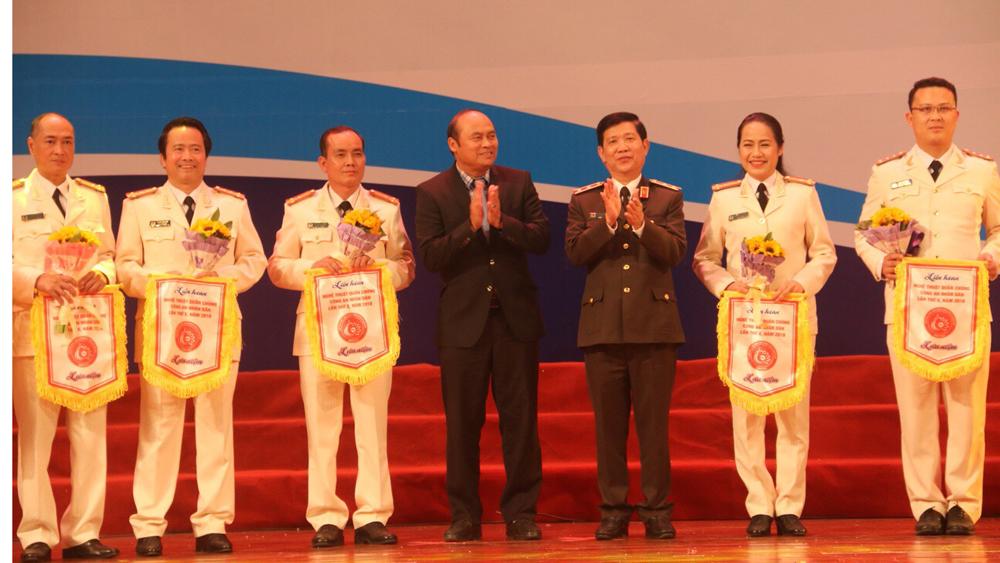 liên hoan, CAND, Bắc Giang.