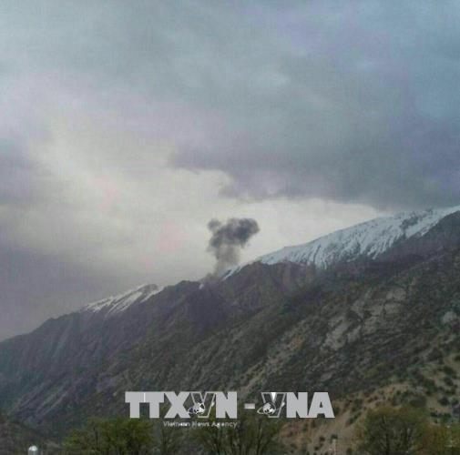Máy bay, Thổ Nhĩ Kỳ, rơi,  Iran, 11 người, thiệt mạng