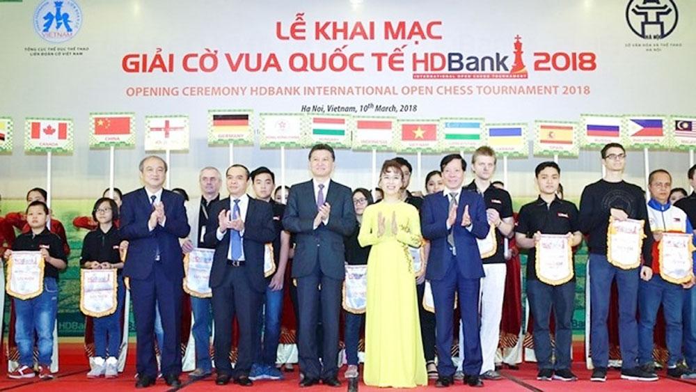 HDBank int'l chess tournament kicks off in Hanoi