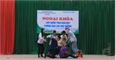 Hơn 1,5 nghìn học sinh tham gia sinh hoạt ngoại khóa phòng chống bạo lực học đường