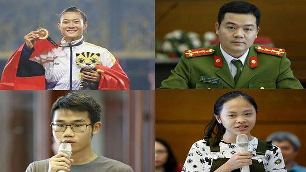 Công bố, 10 Gương mặt trẻ, Việt Nam, tiêu biểu, năm 2017