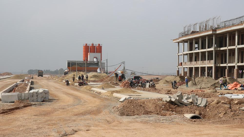 Lục Nam: 4 cụm công nghiệp đã được lấp đầy đơn vị sản xuất