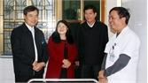Phó Chủ tịch Thường trực HĐND tỉnh Bùi Văn Hạnh kiểm tra tình hình KT-XH tại huyện Hiệp Hòa