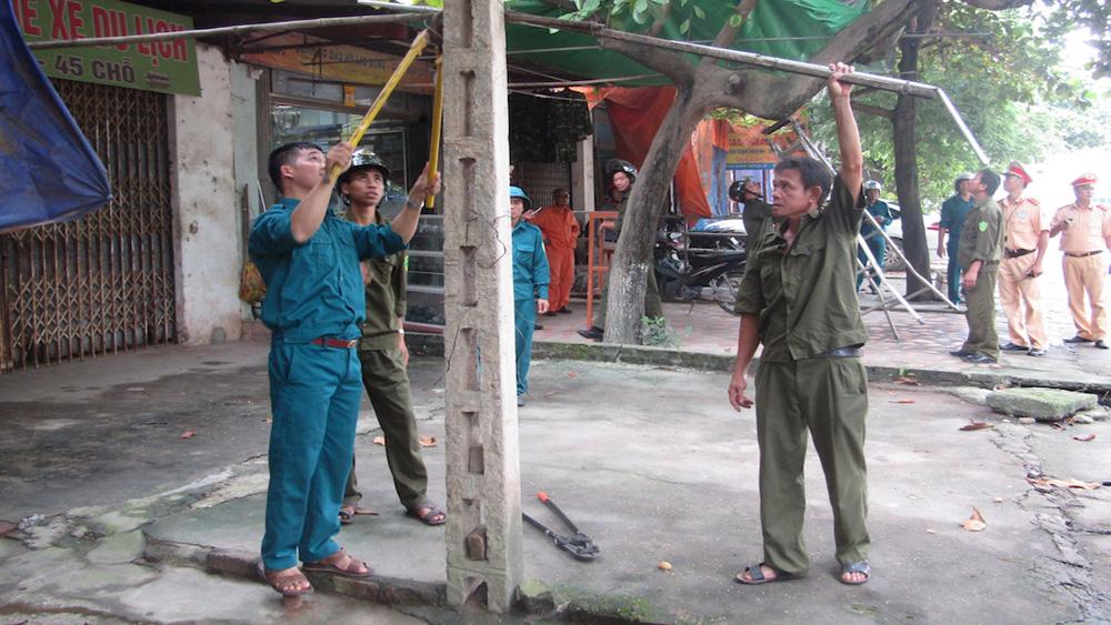 TP Bắc Giang, Tập trung, giải tỏa, hành lang, an toàn đường bộ